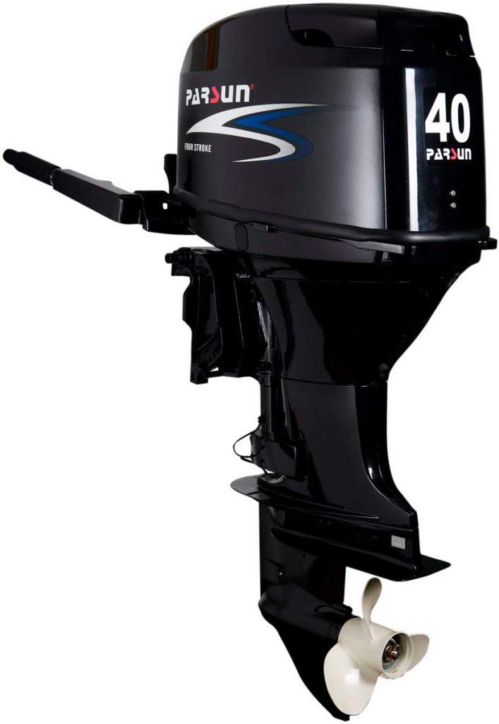 Parsun-Motor-4T-40-H.P.-EFI-ELEC-Largo-F40FWL-T-FUORABORDA-Gama-Media