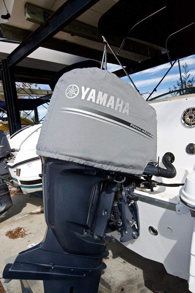 Deluxe Yamaha F250 Cubierta para Motor fueraborda, cuatro tiempos